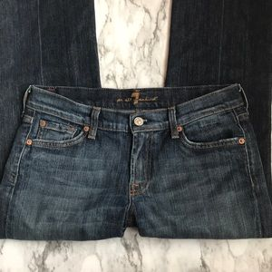 EUC 7 For All Mankind Kimmie Bootcut Jeans Short
